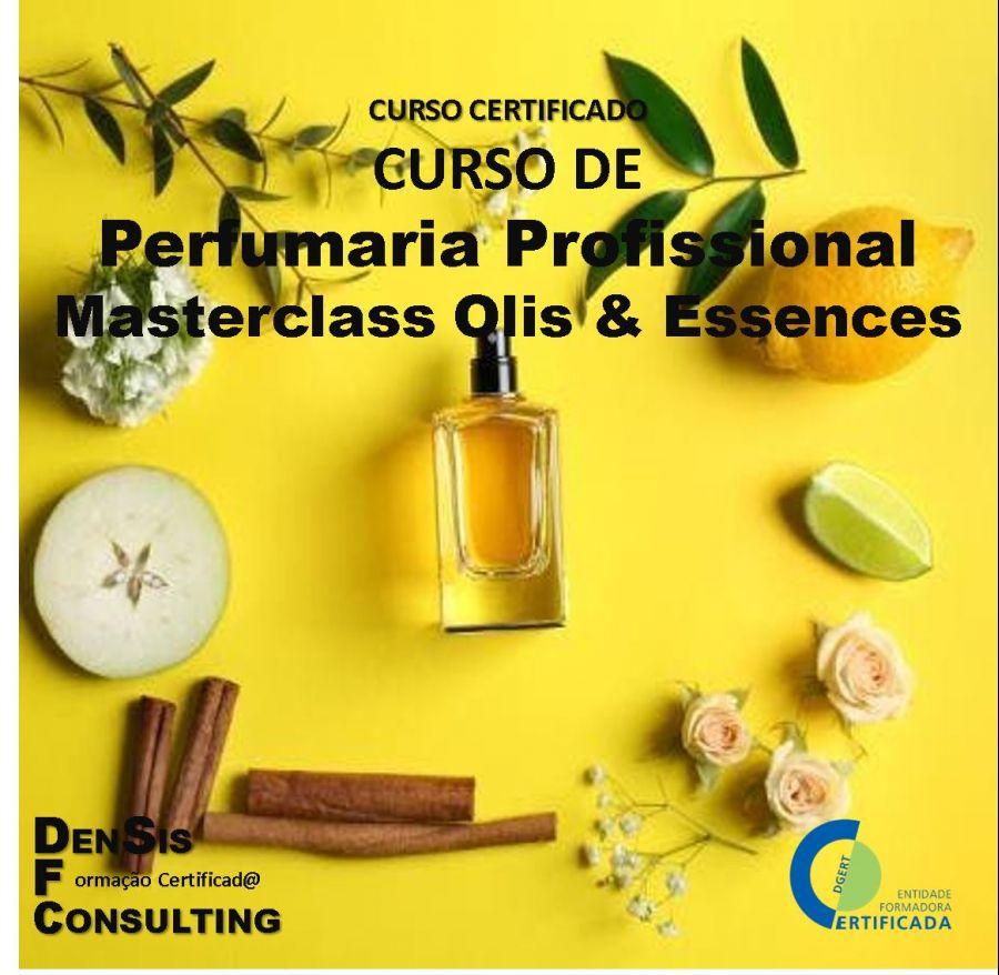 Curso de Perfumaria Profissional - Masterclass Oils & Essences