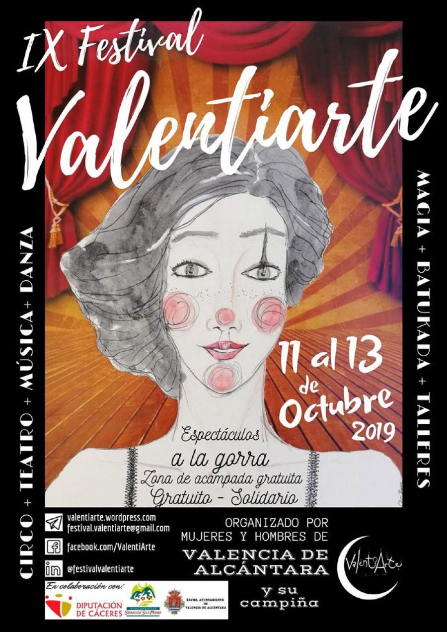 VALENTIARTE 2019 | IX Festival de Circo y Teatro de Calle