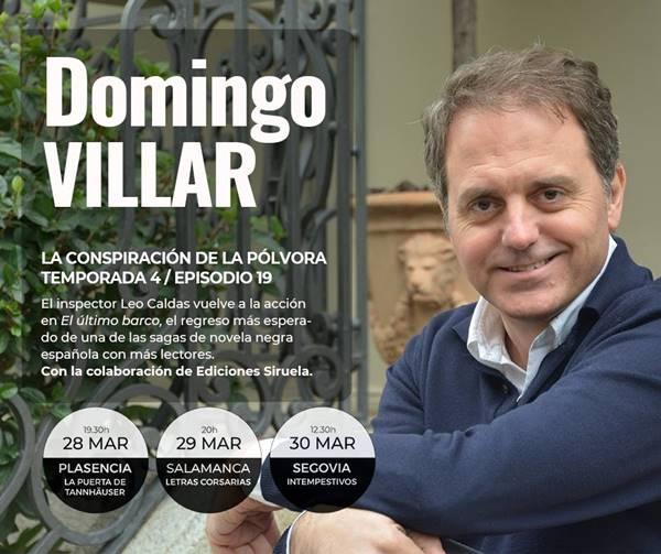 Domingo Villar en La Puerta de Tannhäuser