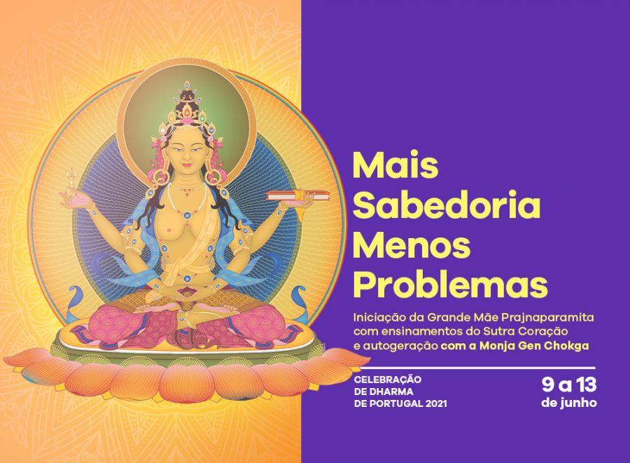 Celebração de Dharma de Portugal 2021