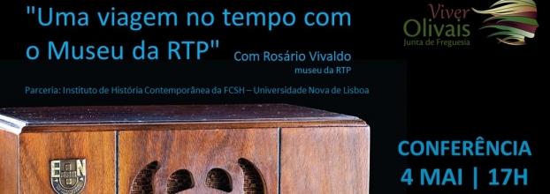 Conferência 'Uma viagem no tempo com o Museu da RTP'