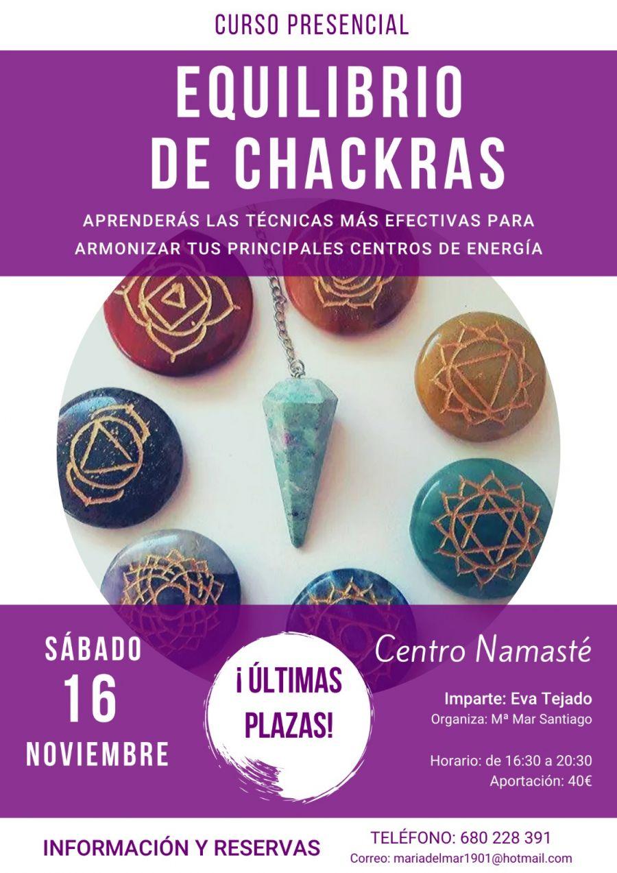 Curso NAMASTÉ - EQUILIBRIO DE CHACKRAS