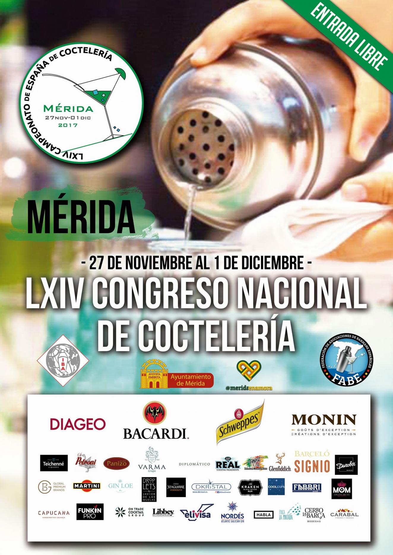 LXIV Congreso Nacional de Coctelería