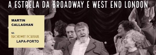 "Workshop Teatro Musical ""West End Everywhere"" com Martin Callaghan, ator e cantor da Broadway, New York"