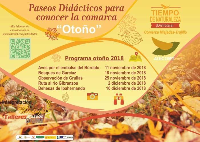SALIDAS DE OTOÑO | Comarca Miajadas-Trujillo