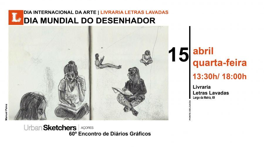 Dia mundial do Desenhador | 15 de abril