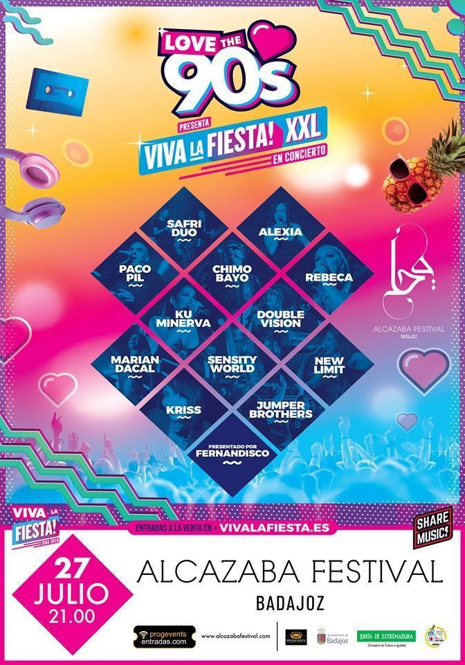 LOVE THE 90S  || Alcazaba festival