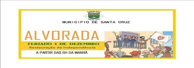 ALVORADA - FERIADO 1 DEZEMBRO 1640
