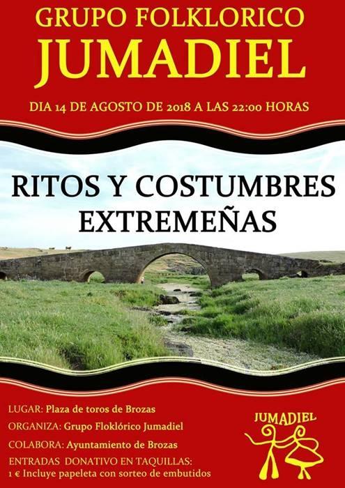 Actuación del Grupo Folklórico 'Jumadiel' de BROZAS || 'Ritos y Costumbres Extremeñas'