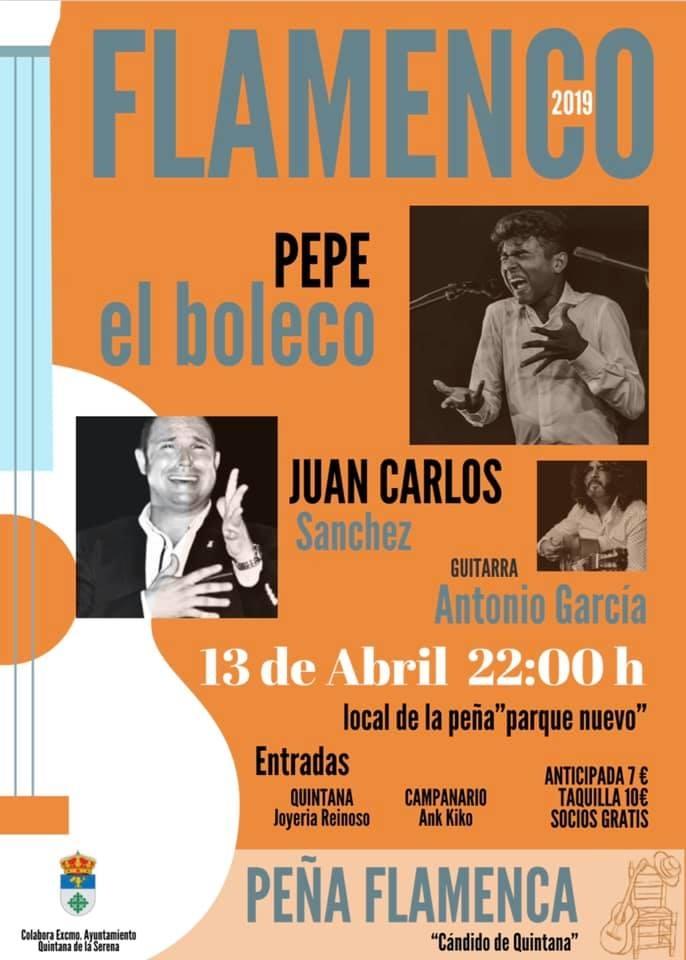 Evento flamenco en Quintana de la Serena