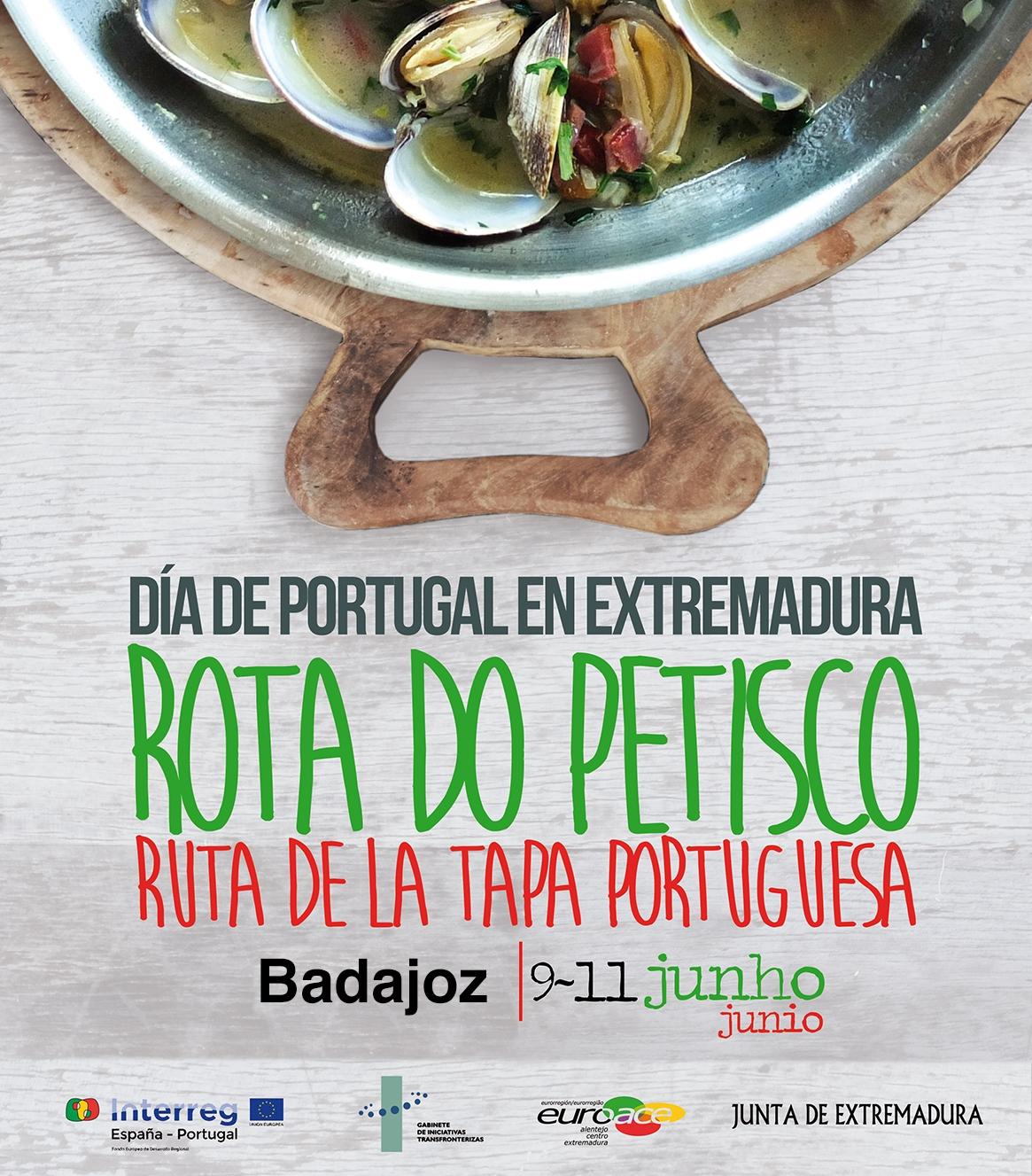 Rota do Petisco / Ruta de la Tapa portuguesa / BADAJOZ