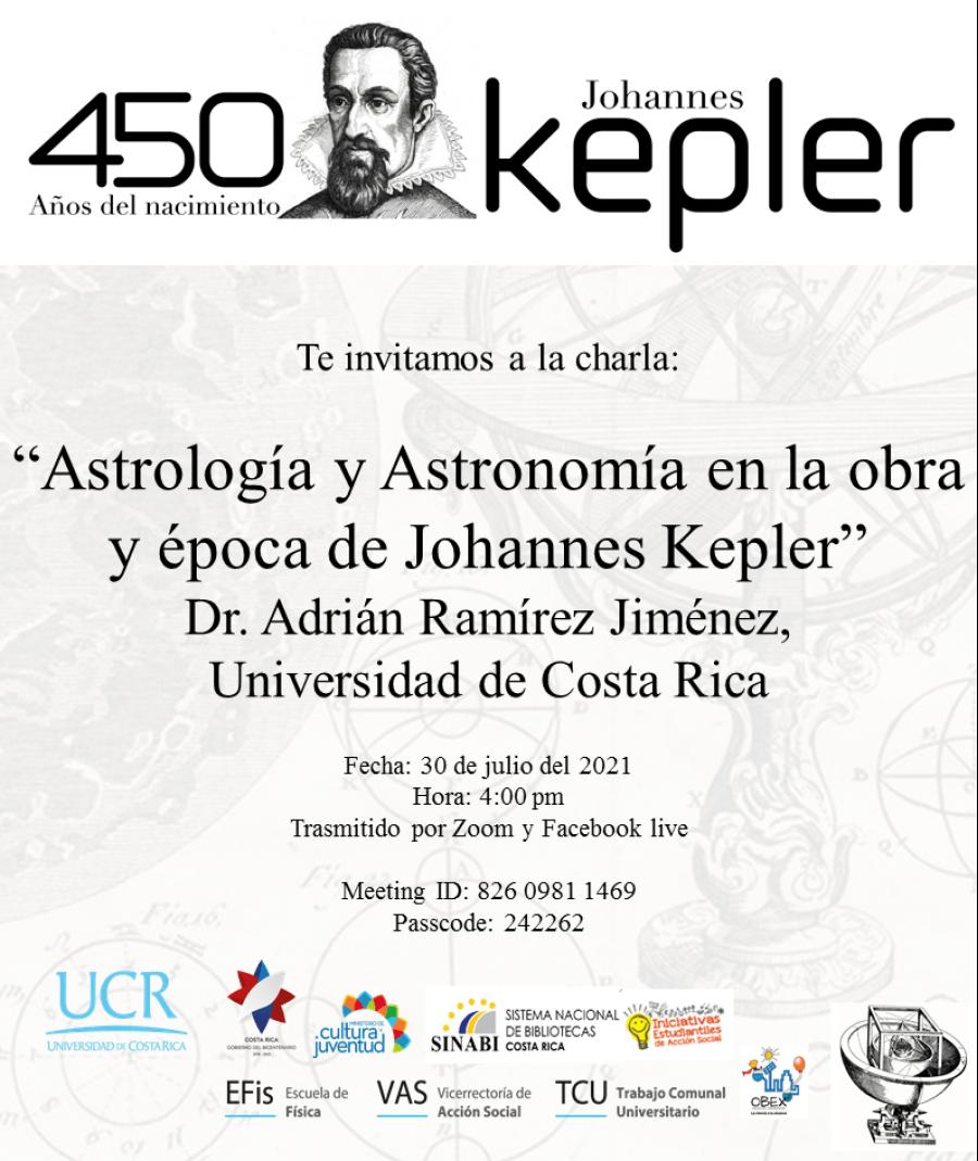 Conferencia. Astrología y astronomía en la obra y época de Johannes Kepler