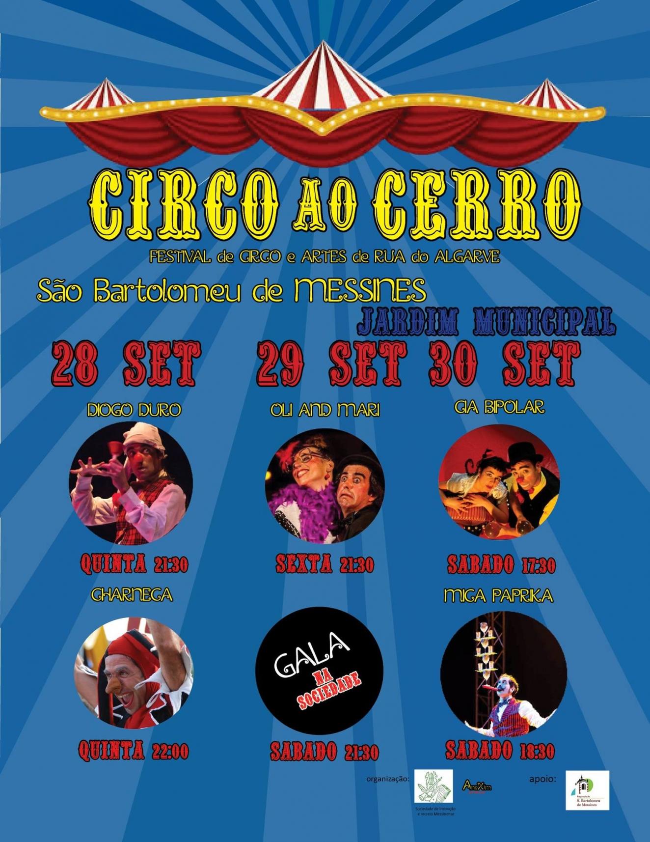Circo ao Cerro - Festival de Circo e Artes de Rua do Algarve