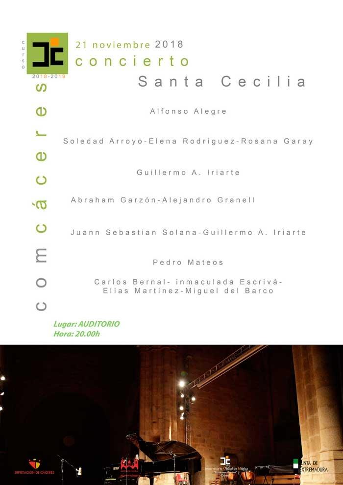 CONCIERTO DE SANTA CECILIA | Cáceres