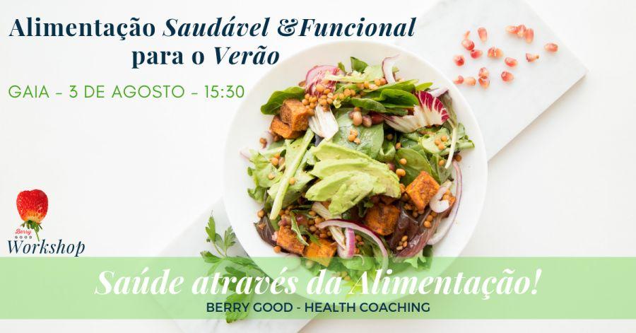 Workshop: Alimentação Saudável e Funcional para o Verão