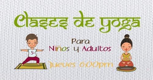 Yoga para niños y adultos