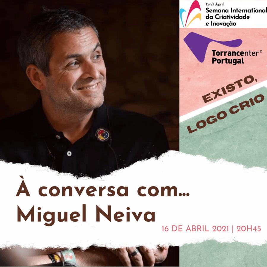 Penso, logo Crio - À conversa com Miguel Neiva