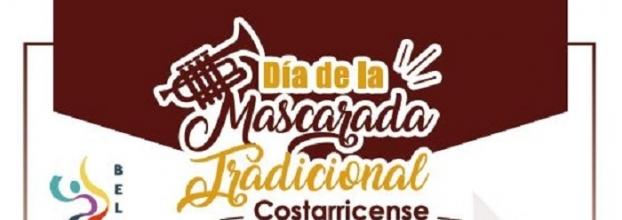 Día de la mascarada tradicional costarricense. Desfile, cimarrona y más