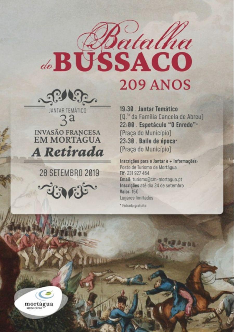 Jantar Temático - Comemoração dos 209 anos da Batalha do Bussaco em Mortágua
