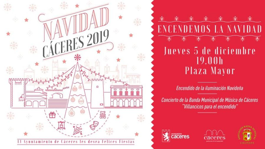 ENCENDIDO LUCES DE NAVIDAD | Cáceres 2019