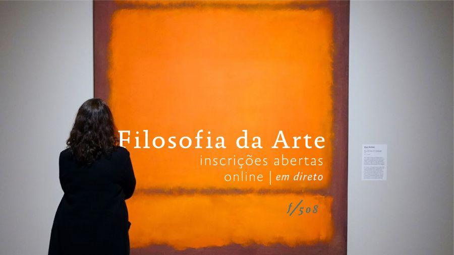 Curso Filosofia da Arte / ONLINE em Direto