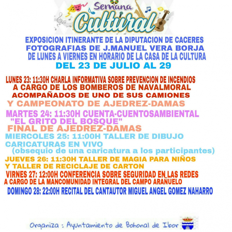 Semana cultural de Bohonal de Ibor