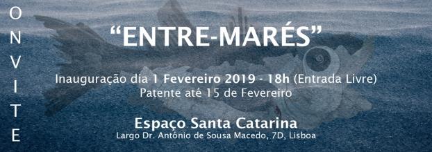 Exposição 'Entre-Marés' de Ricardo S. Alves e Xico Gaivota