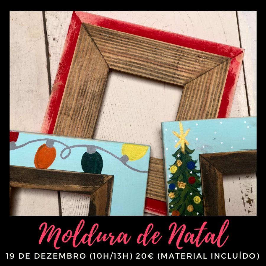Workshop de Moldura de Natal
