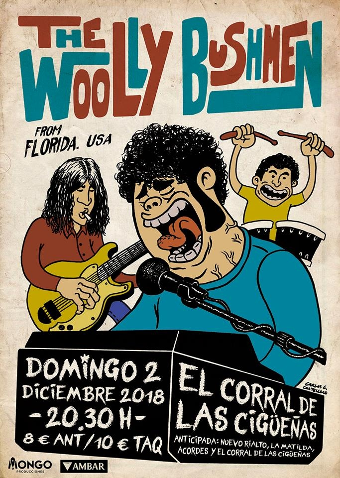 THE WOOLLY BUSHMEN | El Corral de las Cigüeñas