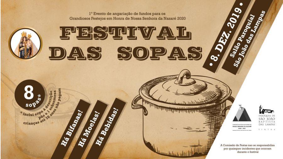 FESTIVAL DAS SOPAS - São João das Lampas