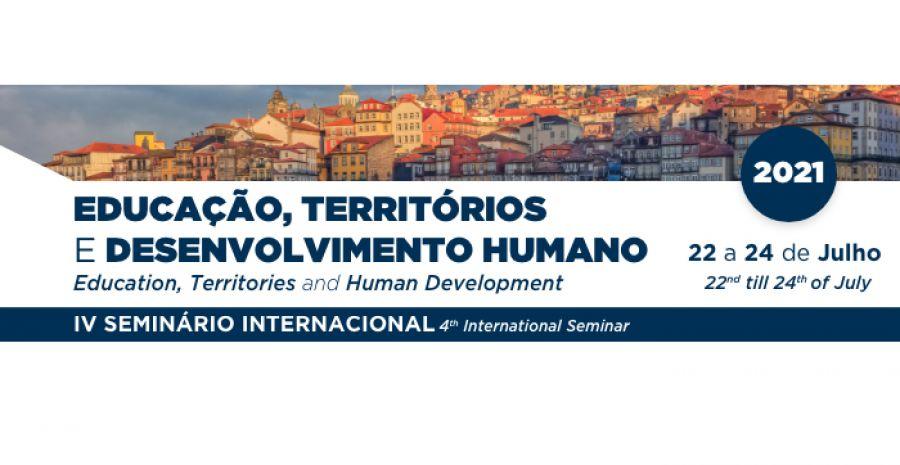 Seminário Internacional – Educação, Territórios e Desenvolvimento Humano