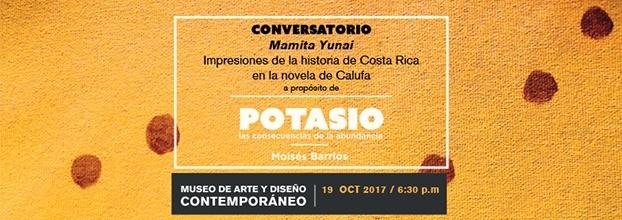 Mamita Yunai: Impresiones de la historia de Costa Rica en la novela de Calufa - Conversatorio