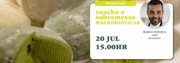 Workshop Snacks e Sobremesas Macrobióticas