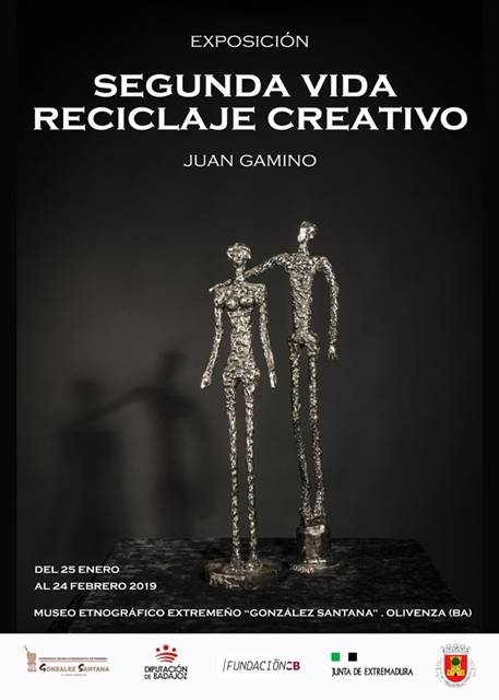 Exposición 'Segunda vida, reciclaje creativo', del artista pacense Juan Gamino