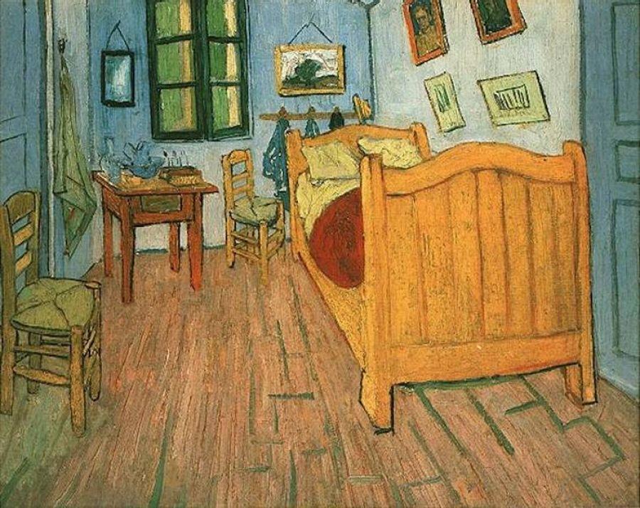 'Na Cabeça de Vicent Van Gogh'