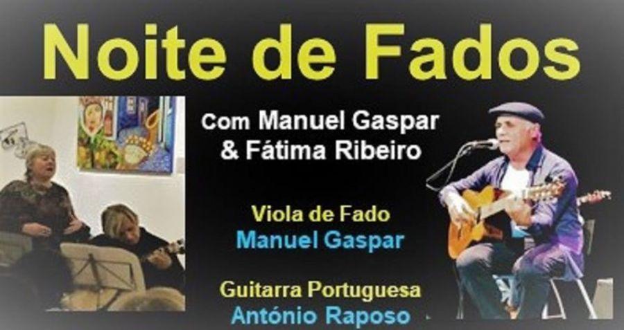 Noite de Fados com Manuel Gaspar e Fátima Ribeiro