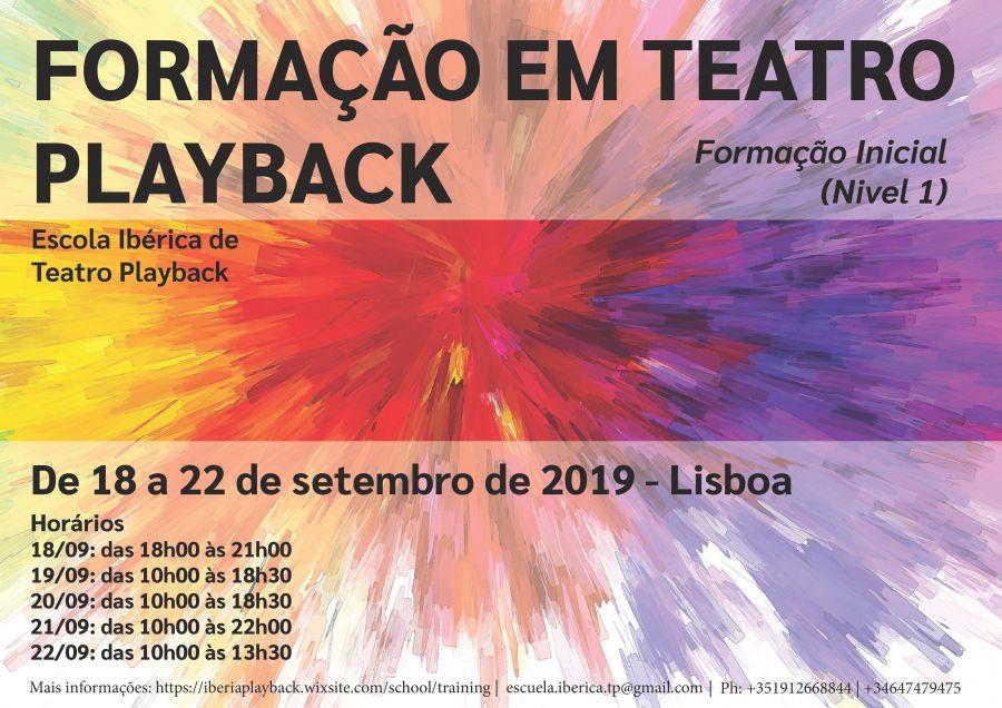 Teatro Playback | curso de iniciação