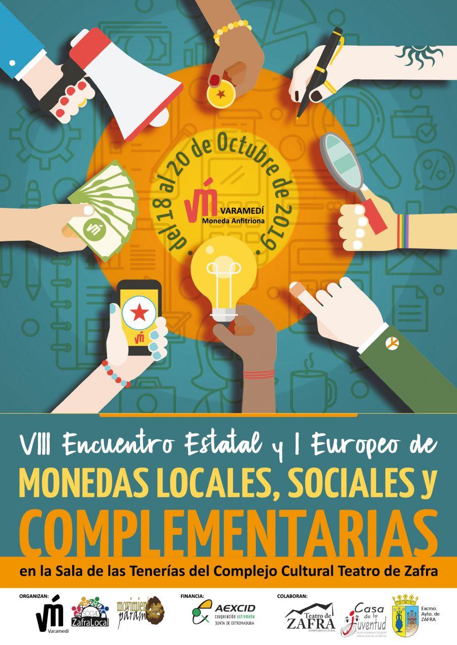 VIII Encuentro Estatal y I Encuentro Europeo de Monedas Locales, Sociales y Complementarias