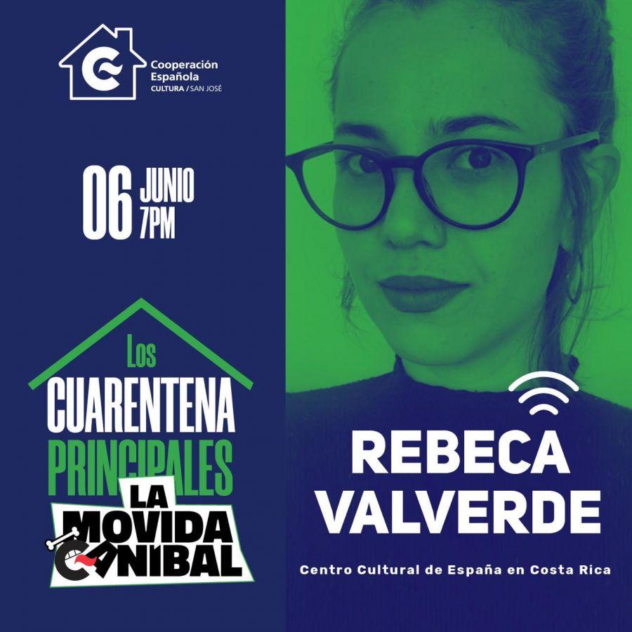 Rebeca Valverde. Los Cuarentena Principales de la Movida Caníbal VOL.4