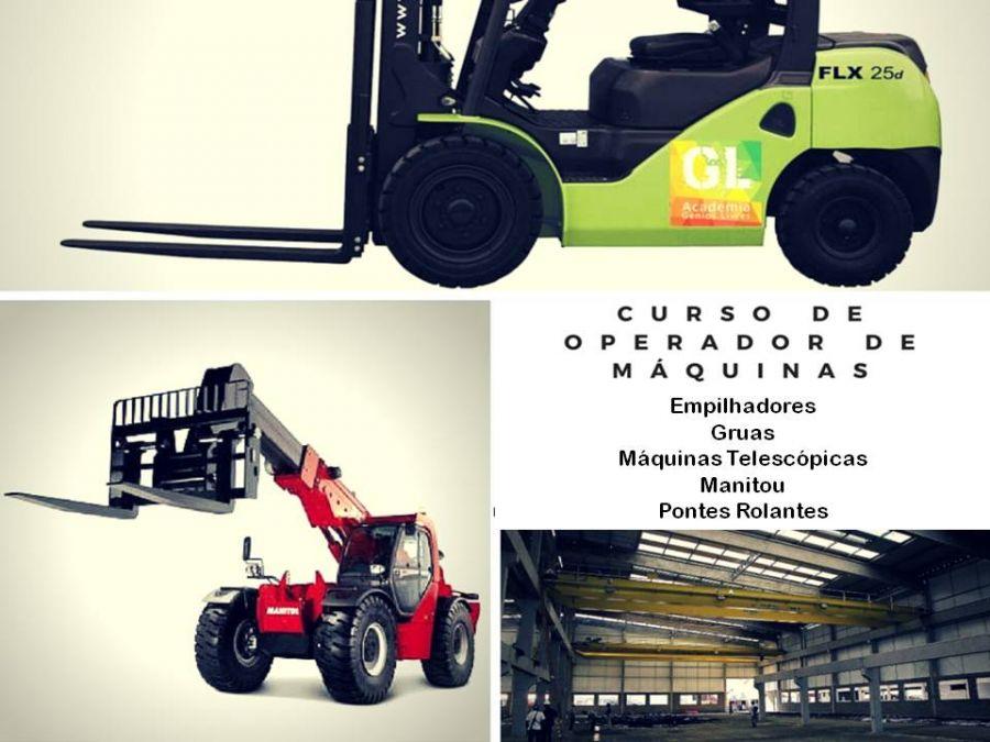 Curso de Operador de Máquinas – Empilhadores e outras Outubro 19 @ 9:00 am
