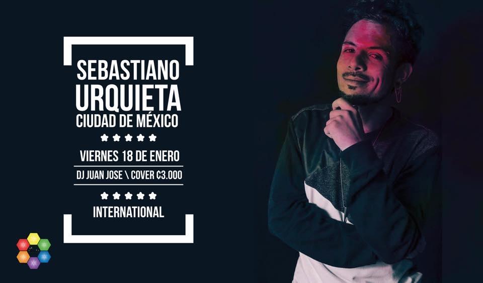 Concierto. Sebastiano Urquieta. Pop-electrónico