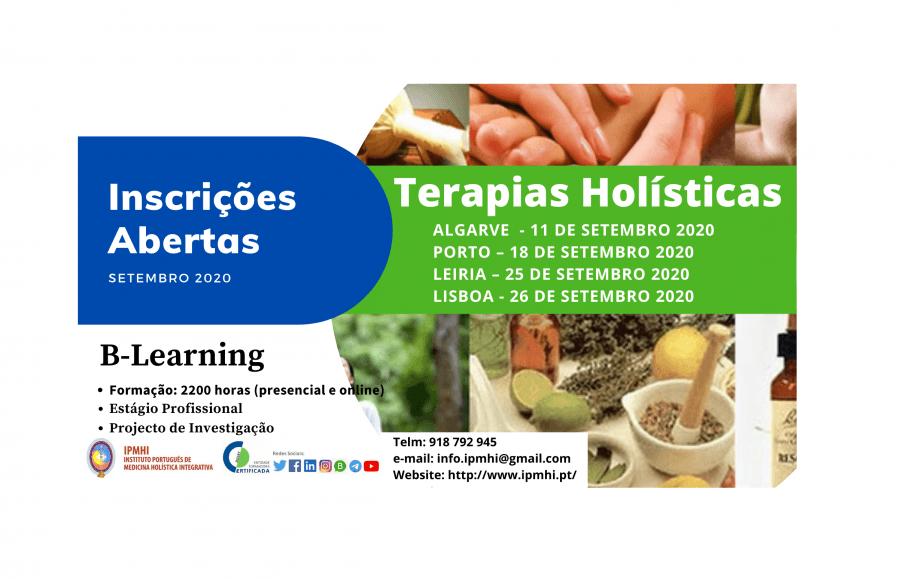 Formação Certificada em Terapias Holísticas