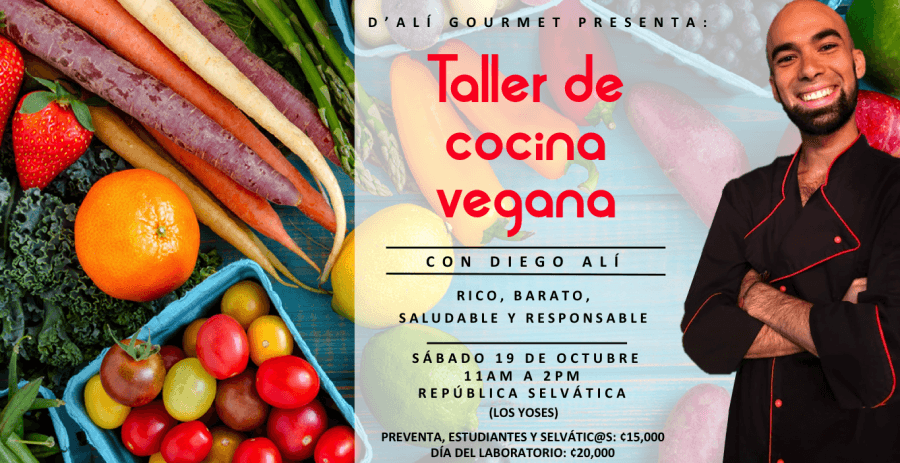 Cocina. Diego Alí. Vegana