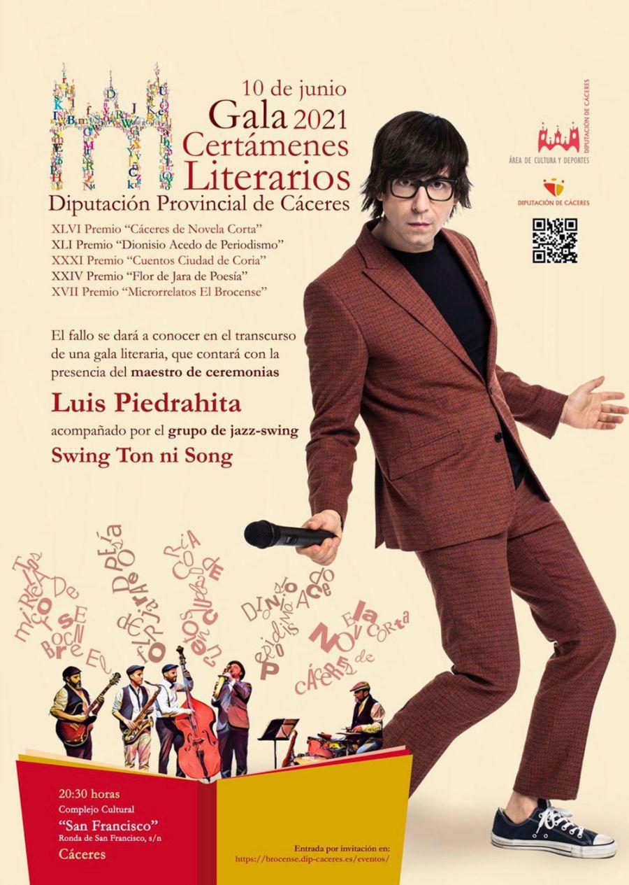 GALA CERTÁMENES LITERARIOS AÑO 2021 (Diputación de Cáceres)