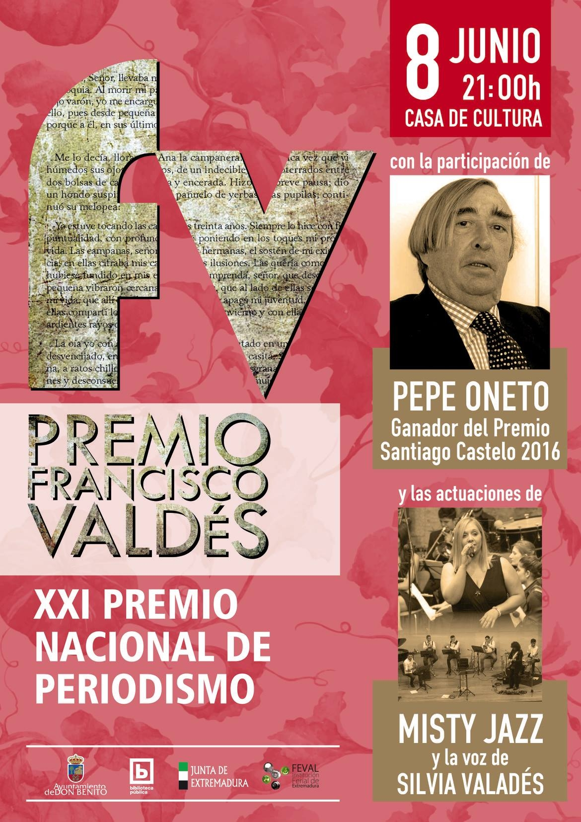 Premio Francisco Valdes (XXI Premio Nacional de Periodismo)