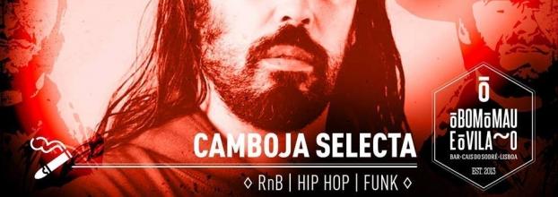 Camboja Selecta   RnB, Hip Hop, Funk