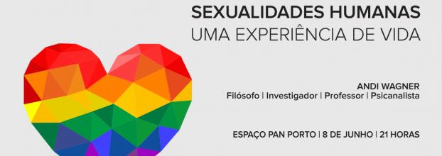 Palestra: 'Sexualidades Humanas. - Uma experiência de vida.