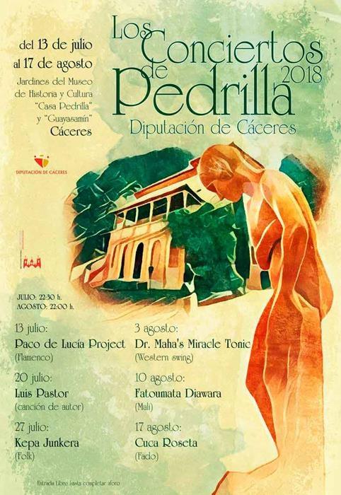 XXII 'Los Conciertos de Pedrilla'