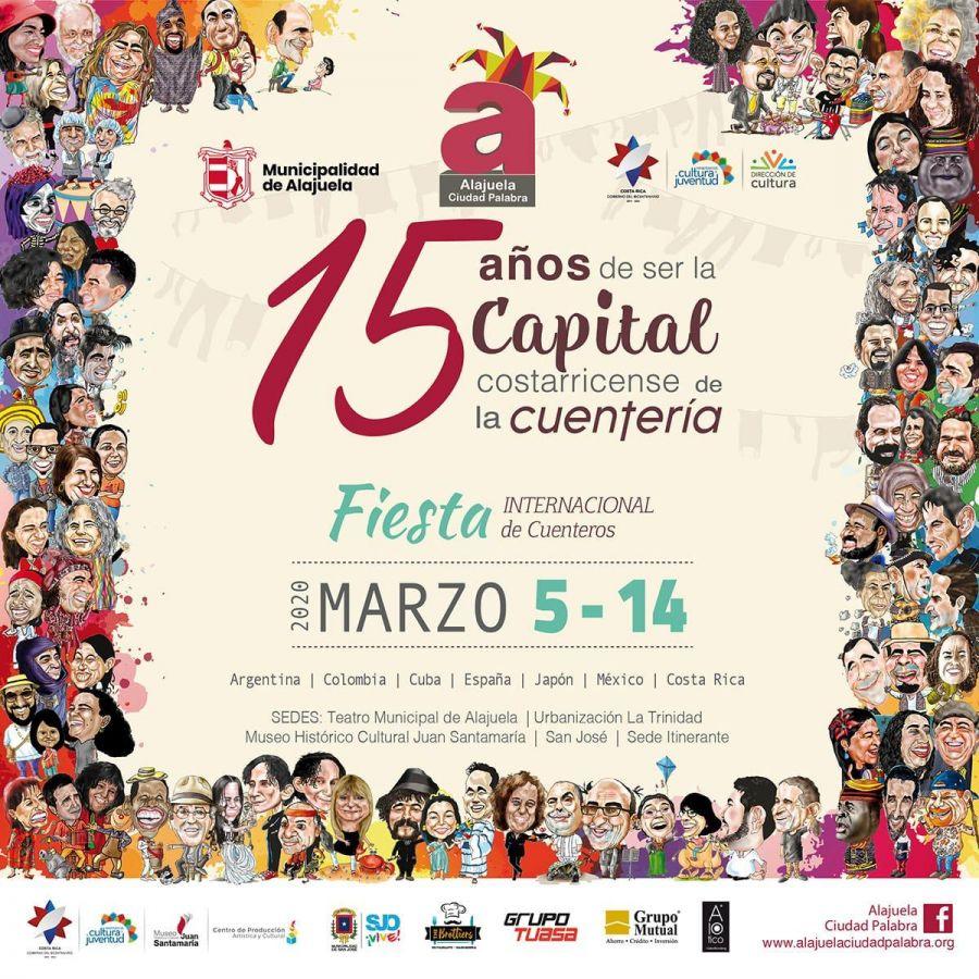 XV Festival Internacional de Cuenteros. Presentaciones y talleres