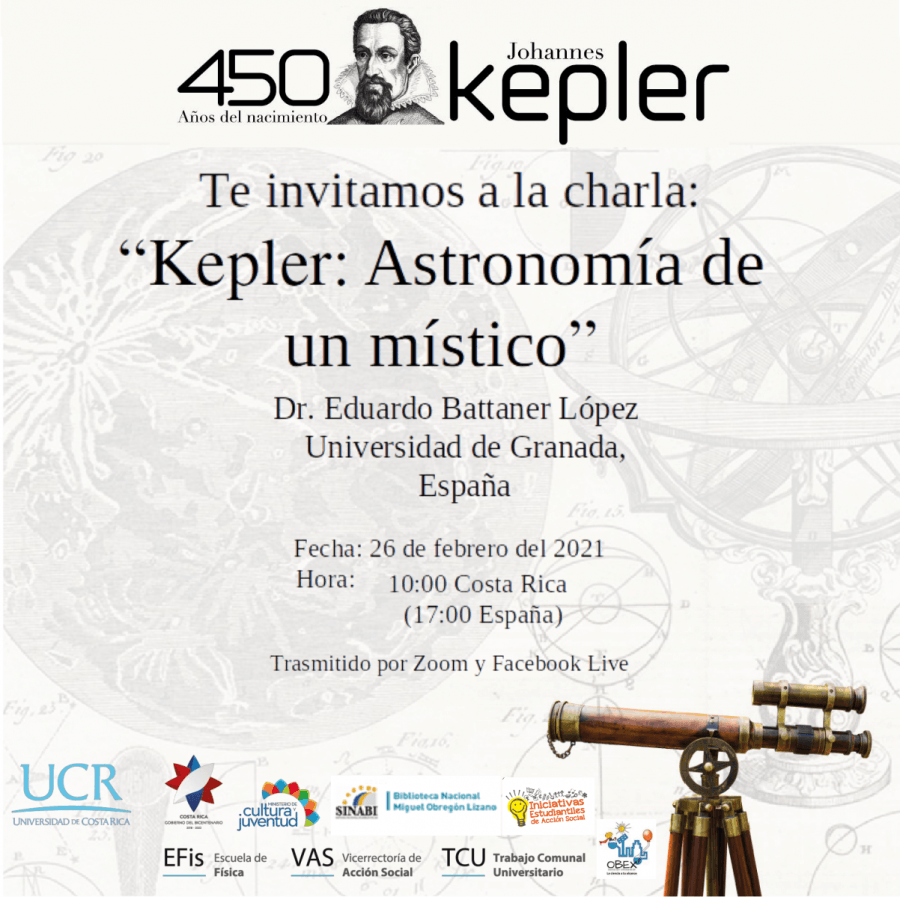 Charla. Kepler: astronomía de un místico